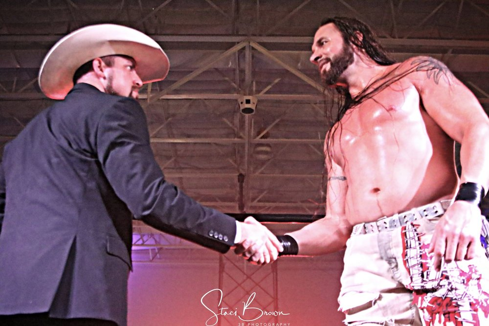 Commissioner Aaron Presley and Lance Hoyt (3B Photography)