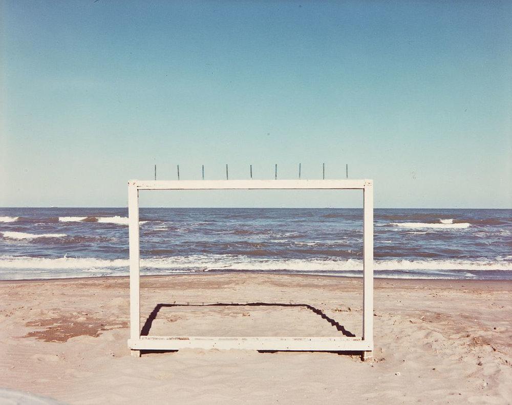 "Luigi Ghirri,  Marina di Ravenna , 1986, from ""Paesaggio italiano"""