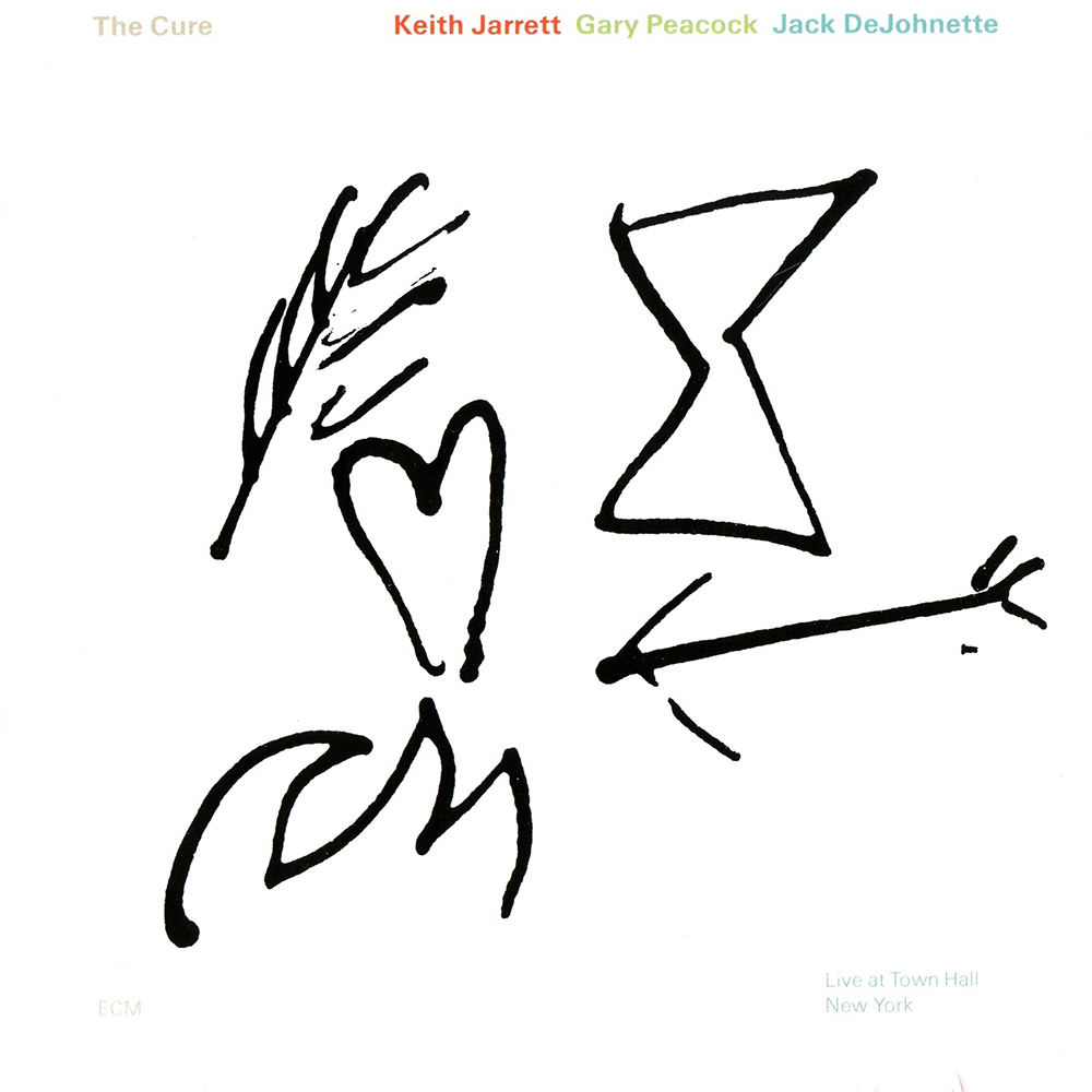 Barbara Wojirsch's design for Keith Jarrett's  The Cure  (1991)