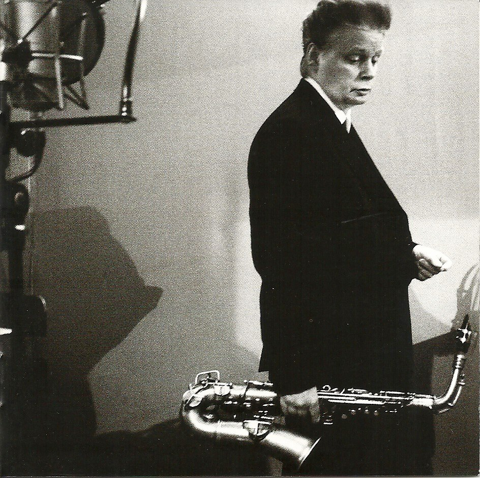 Saxophonist James Chance