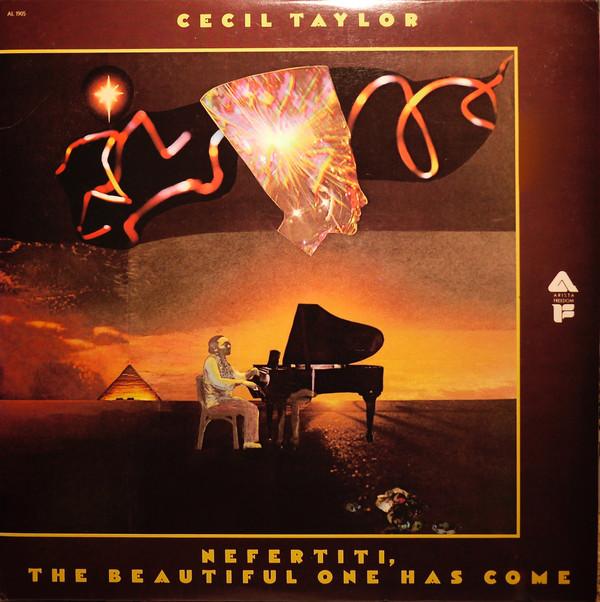 Pohl's artwork for Cecil Taylor's  Nefertiti, The Beautiful One Has Come , Arista, 1976.