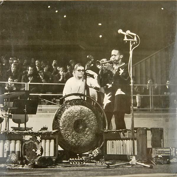 "Inner sleeve photo for Don Cherry's ""Eternal Rhythm,"" 1969"
