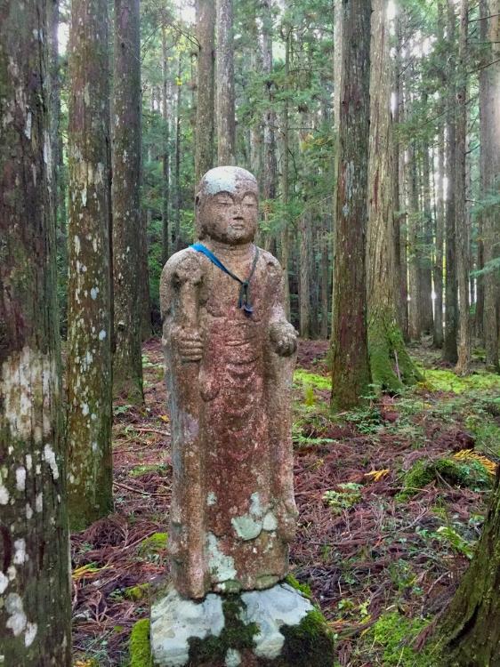 On the women's pilgrimage trail of Koyasan, Japan 2015.