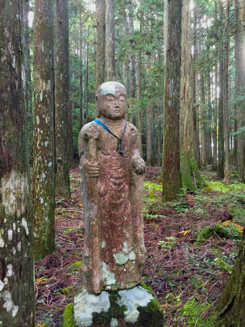 On the women's pilgrimage trail of Koyasan, Japan 2015.