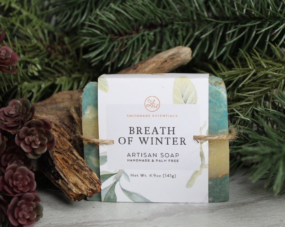 Breath of Winter Artisan Soap by Smithmade Essentials