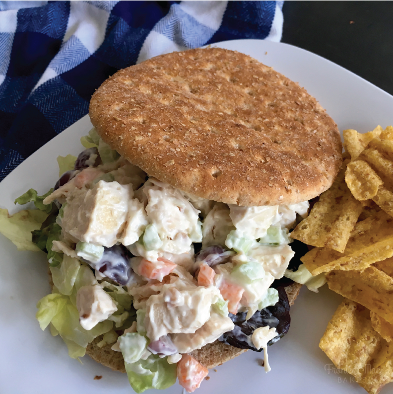 Quick and Easy Chicken Salad by Fronie Mae Bakes