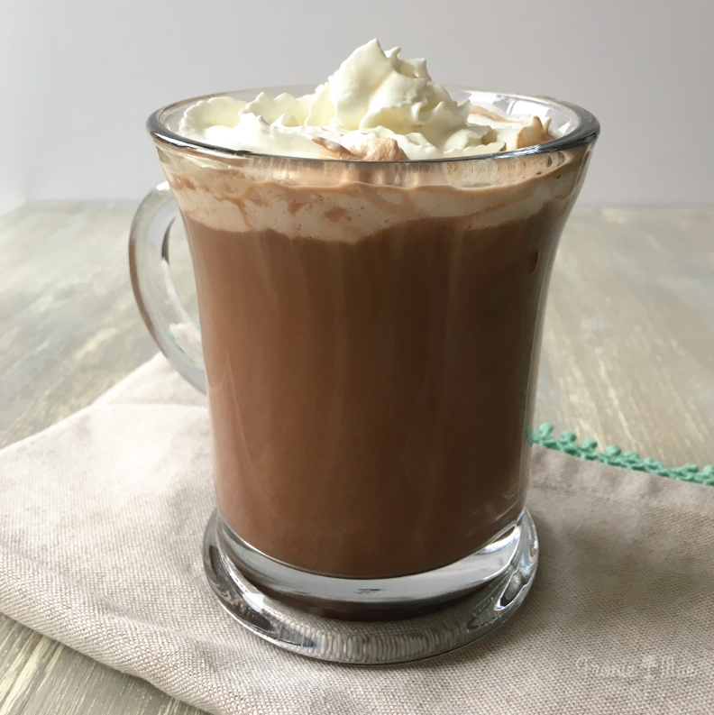 Homemade Cafe Mocha Recipe by Fronie Mae Bakes. www.froniemaebakes.com