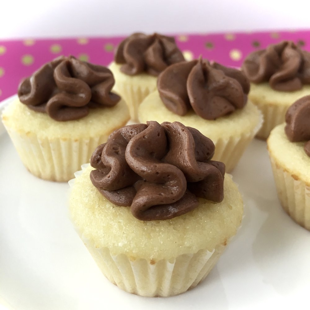 Simple Bliss cupcakes Fronie Mae Bakes