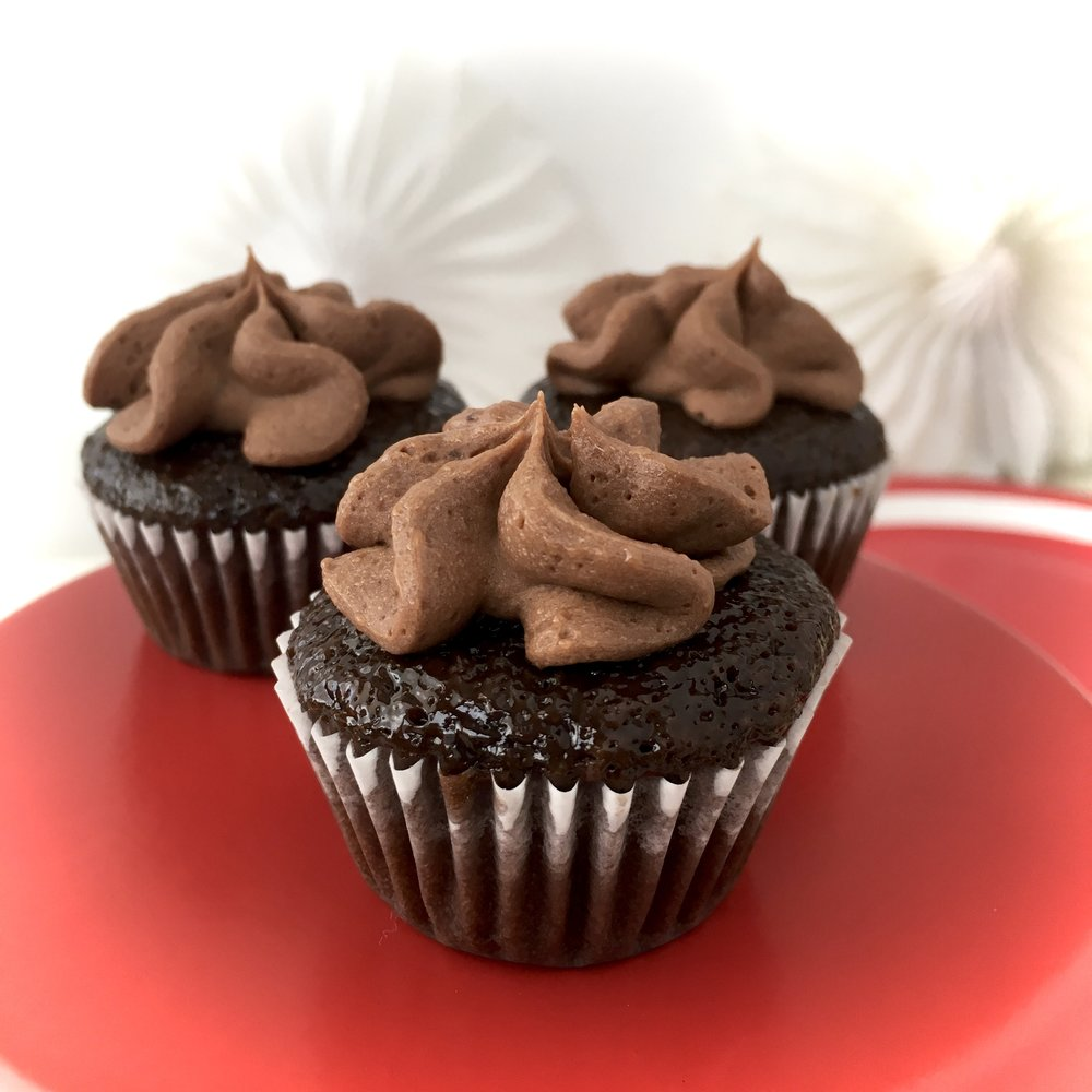 Double Chocolate Delight cupcakes Fronie Mae Bakes