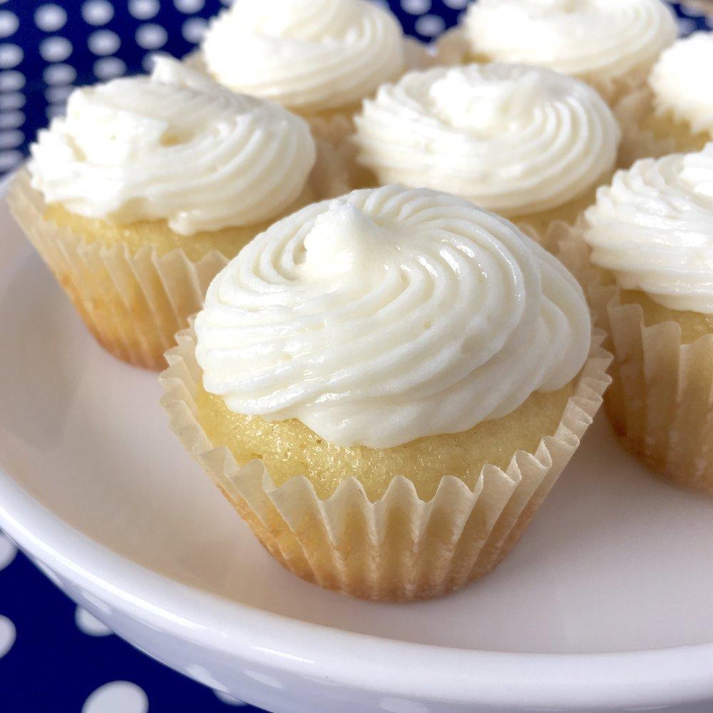White Cloud Cupcakes Fronie Mae Bakes