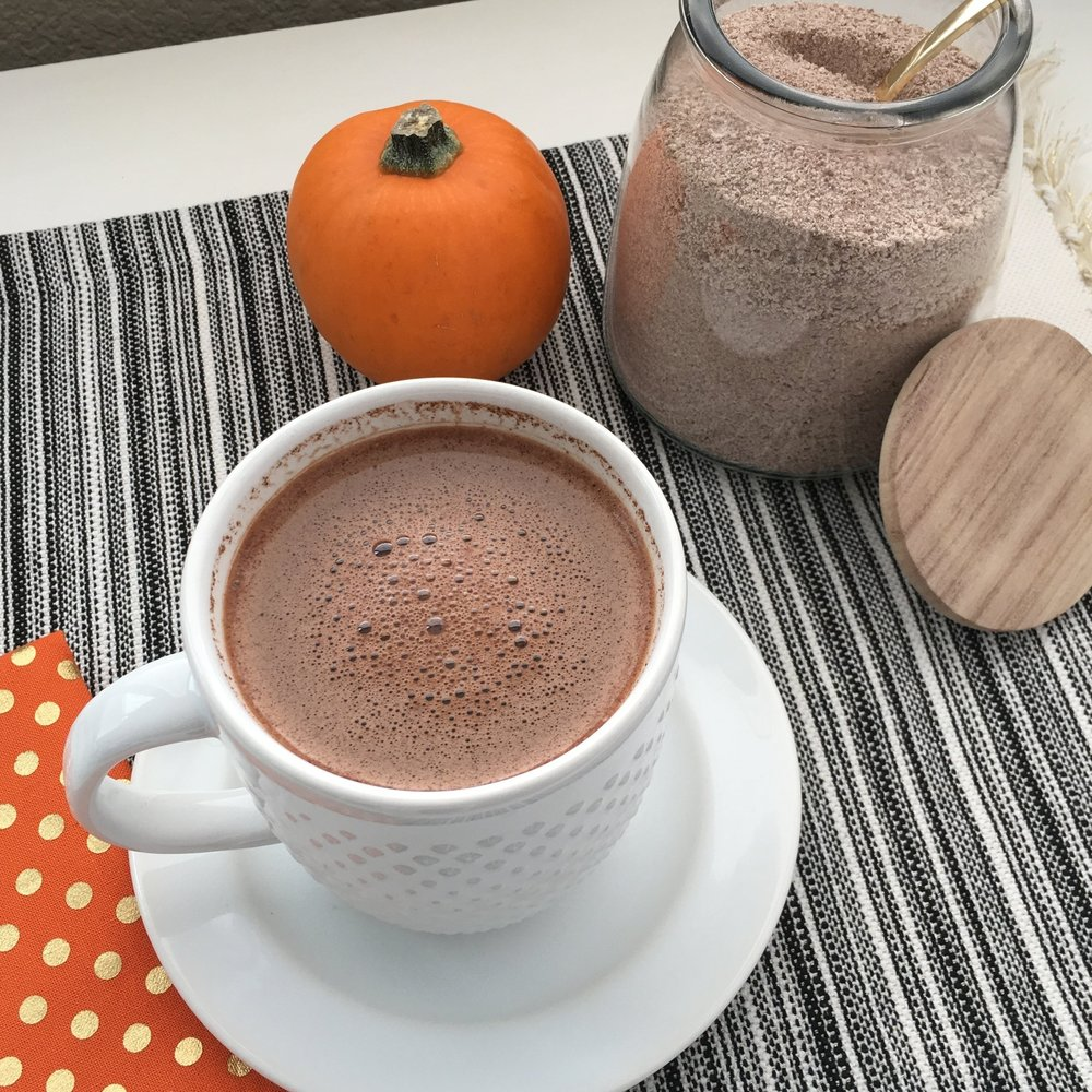 PUMPKIN SPICE HOT CHOCOLATE MIX