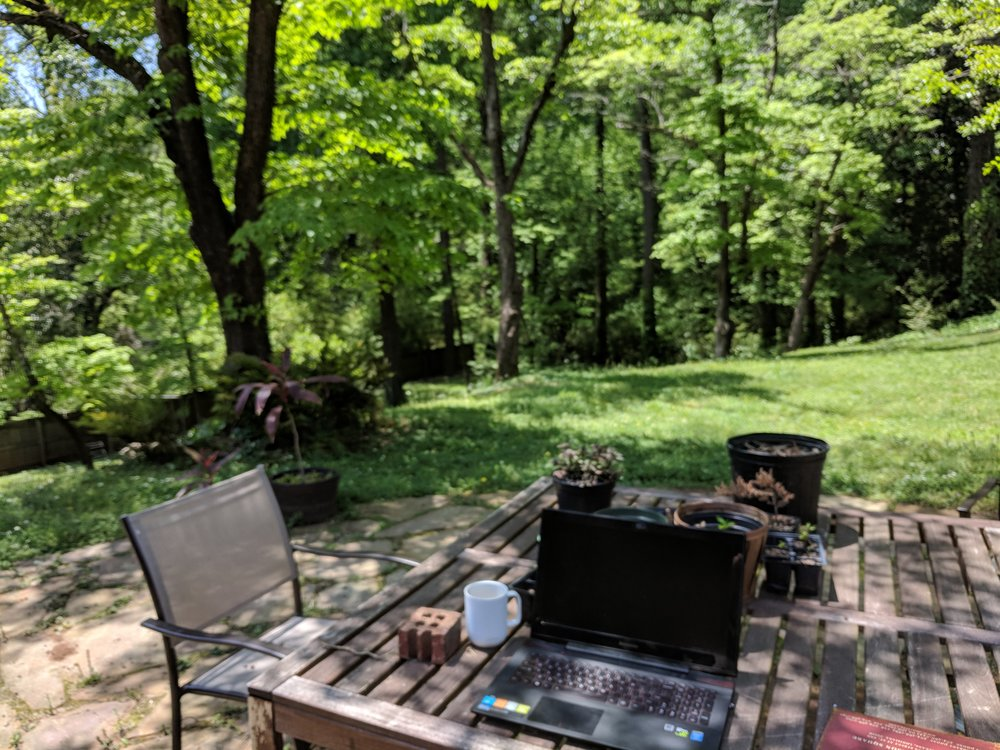 Atlanta backyard office