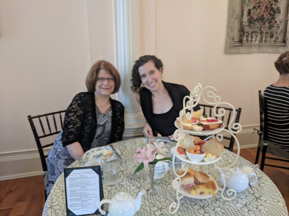 High tea in Findlay