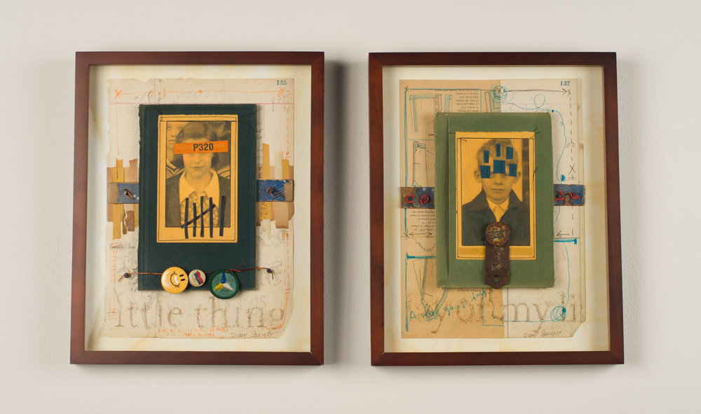 I'm So Lucky Diptych    Diane Speight    Winder  GA