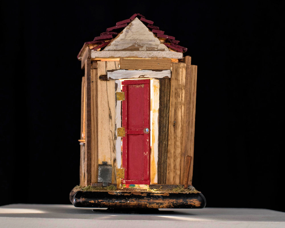 The Shed Lisa Freeman    Athens,  GA Assemblage  2017 $500