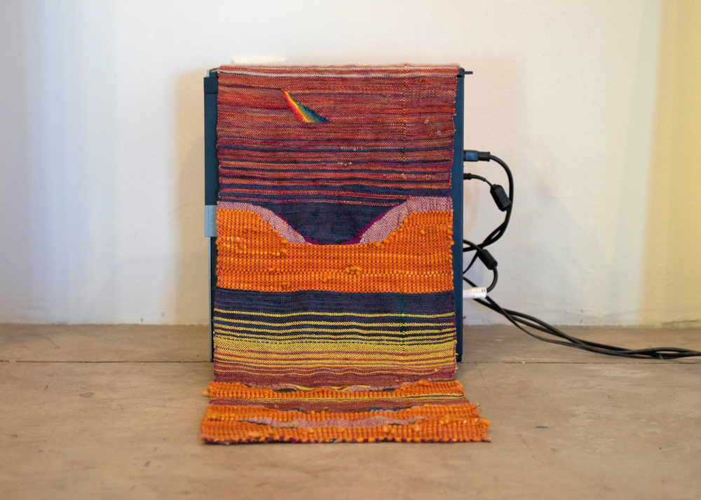 Cheya Maddie Zerkel  Minneapolis, MN Handwoven with cotton and wool 2018 $300