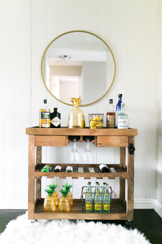 Mozdeb's Bar Cart 101 - including recipes & tips!