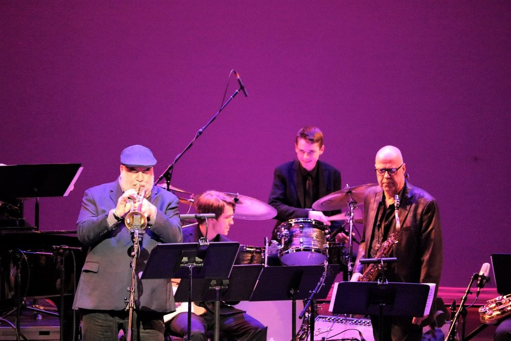 with Randy Brecker and Bob Sheppard, 2018