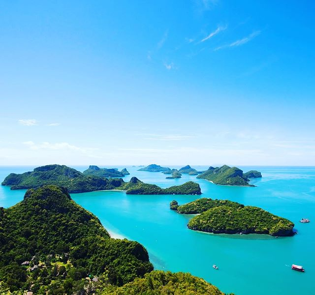 Beautiful Thai islands. It's getting closer 🙃😬😬😬 . . . . .