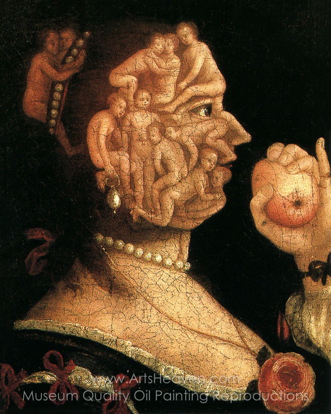 """Eve and Apple,""  c. 1578"