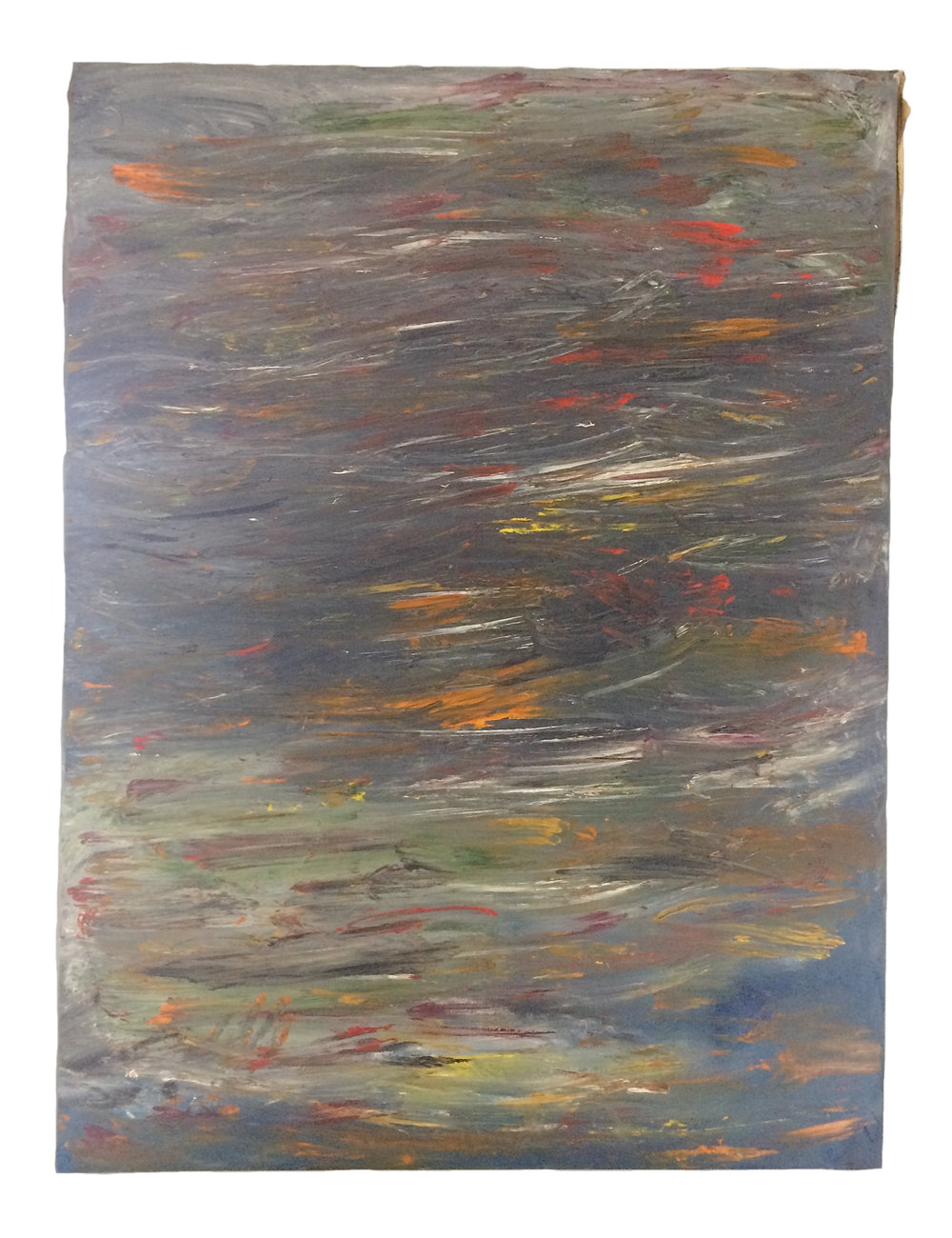 Sway    Oil on canvas  48 x 36 inches