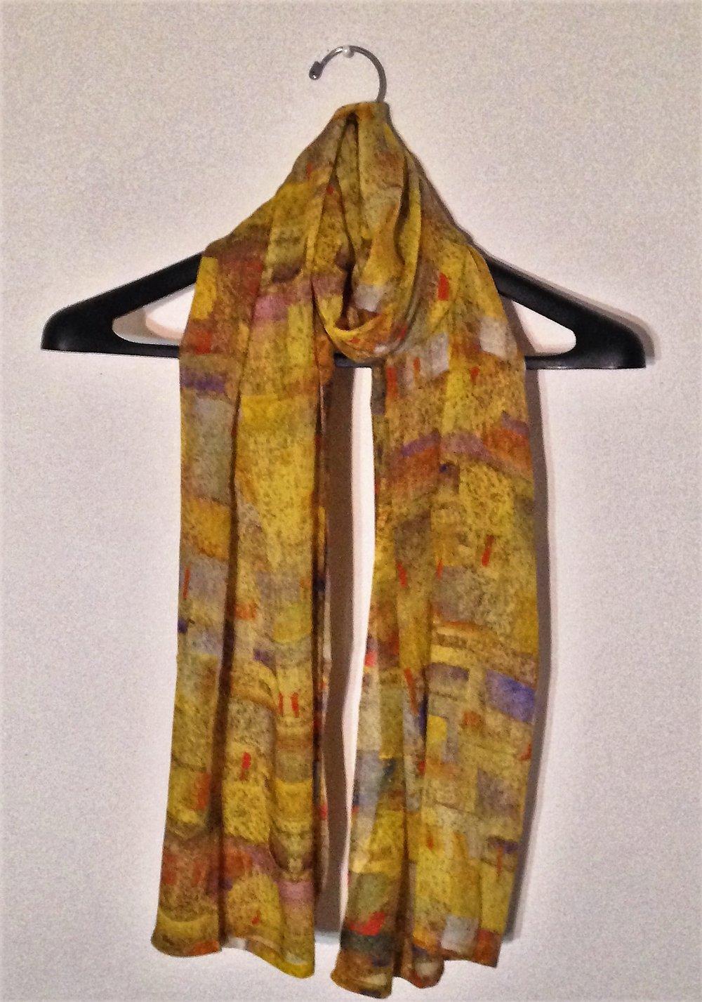 Silk Square Scarf - Yellow Rose Scarf by VIDA VIDA lrlk6