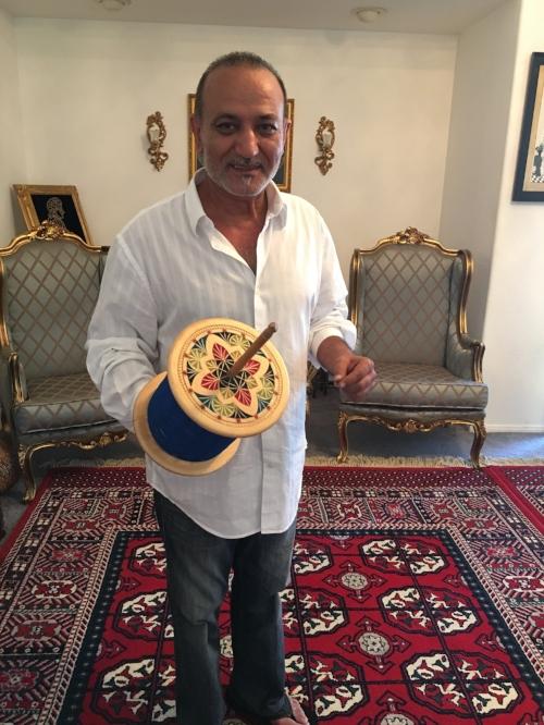 Basir and his spool