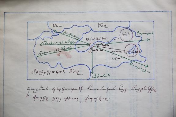 Map: the Armenian Flight