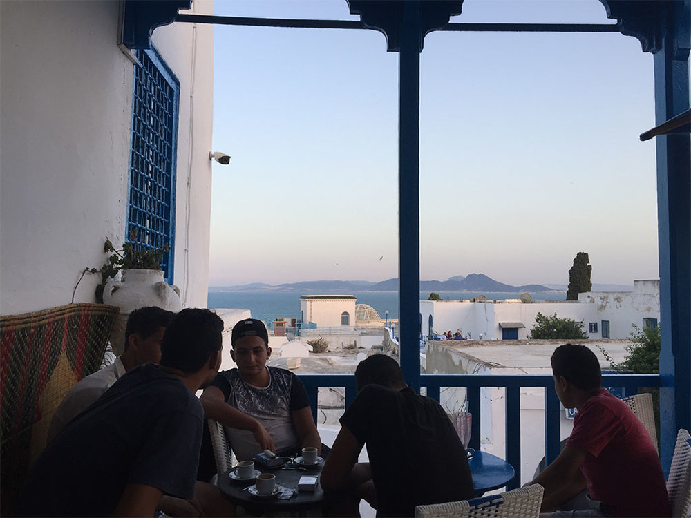 Sidi Bou Said. Photo: Kerning Cultures
