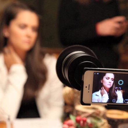 production de films à l'iphone ou smartphone