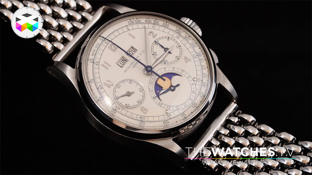The record breaking steel Patek Philippe Ref. 1518