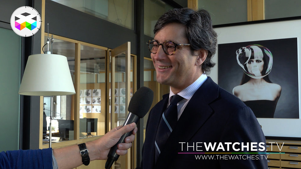 Davide Traxler, CEO of Corum Watches
