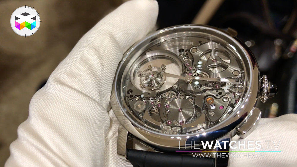 Cartier Double Tourbillon Mystérieux Minute Repeater