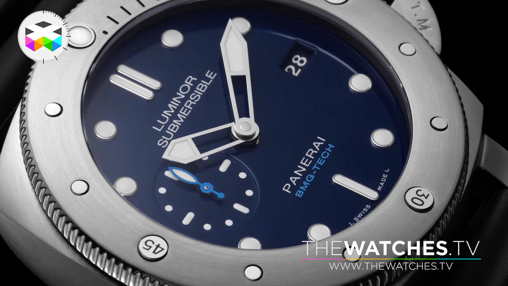 Panerai Luminor Submersible BMG - Liquid metal case