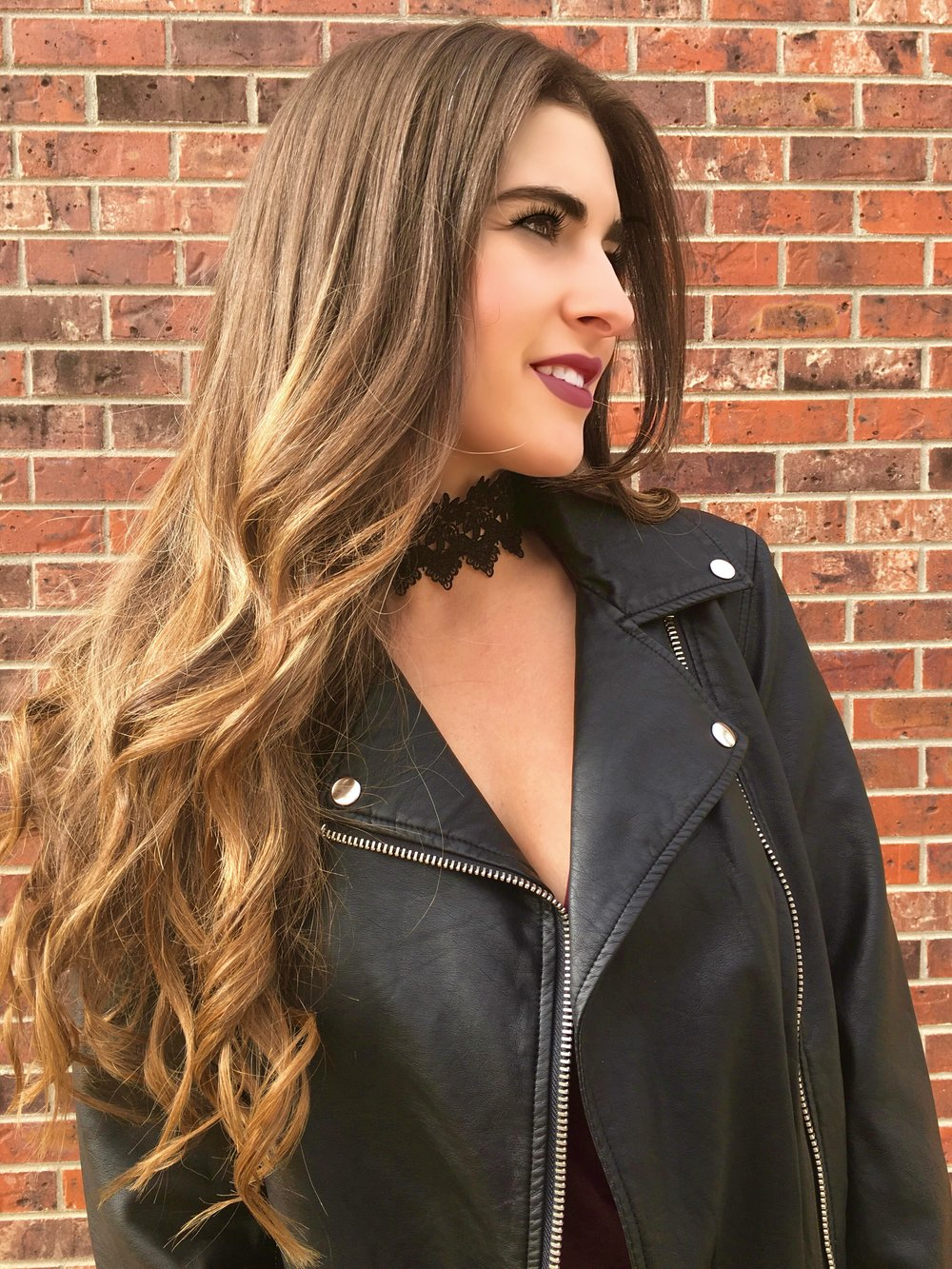 Leather Jacket from Forever 21