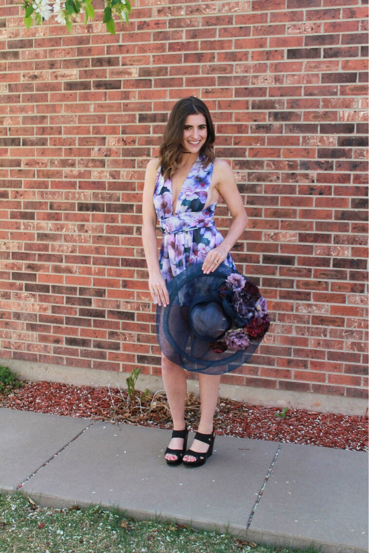 This Eau De Parfum Purple Floral Print Convertible Romper is from Lulu s  and is available for  74. This piece is stunning and you will get more  compliments ...