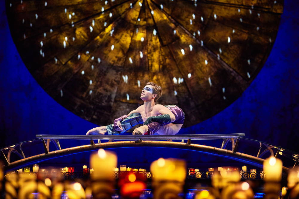 Photo credit : Matt Beard / Costumes: Giovanna Buzzi / 2016 Cirque du Soleil