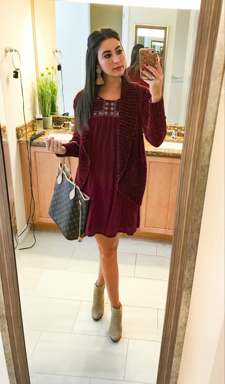 OOTD - Occasion: Christmas ShoppingDecember 2017Outfit Details
