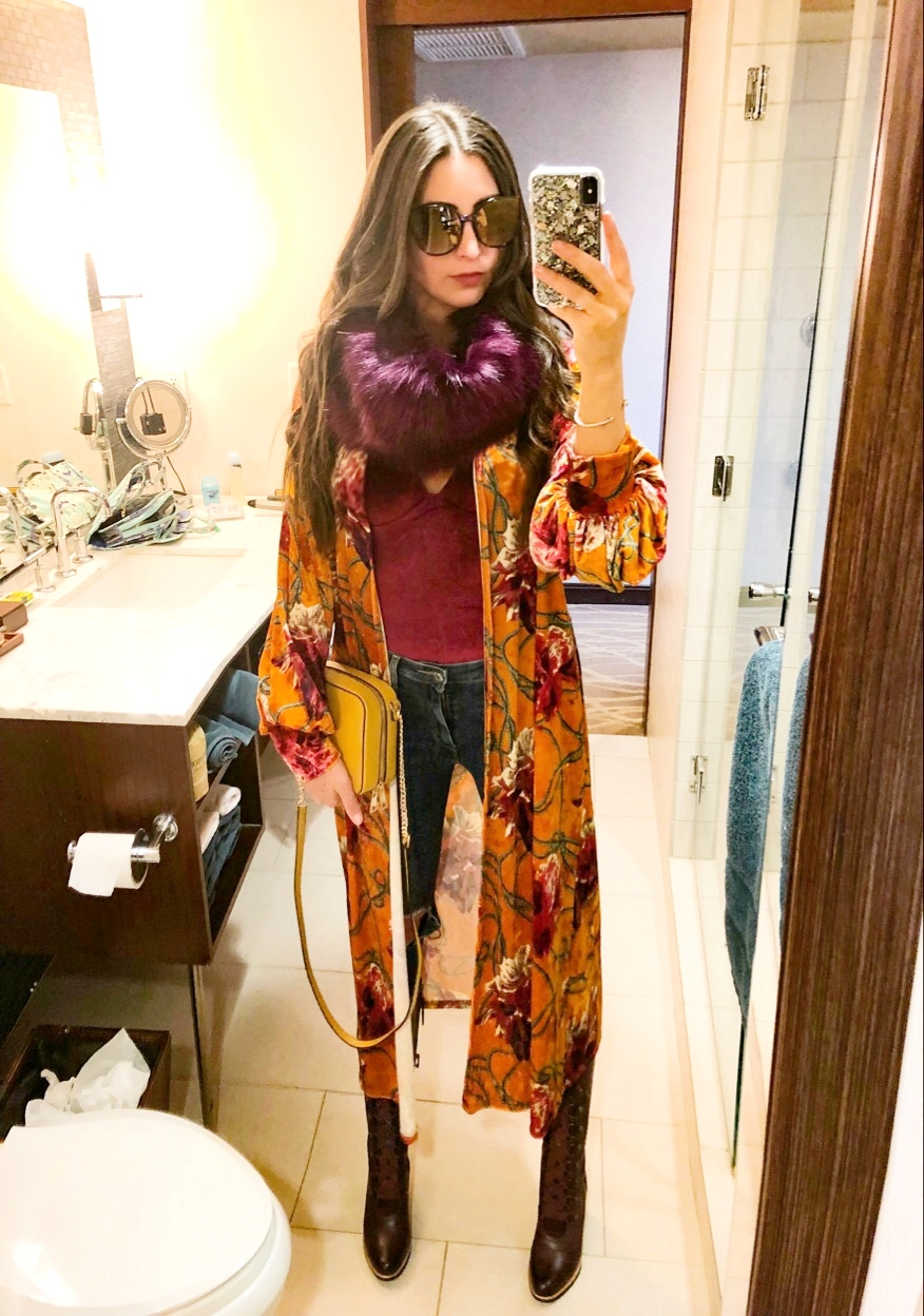OOTD - March 2018Occasion: NYC - Brunch at Rustic Kitchen, The Intrepid Sea, Air & Space Museum, Lunch at Robert & ShoppingOutfit Details