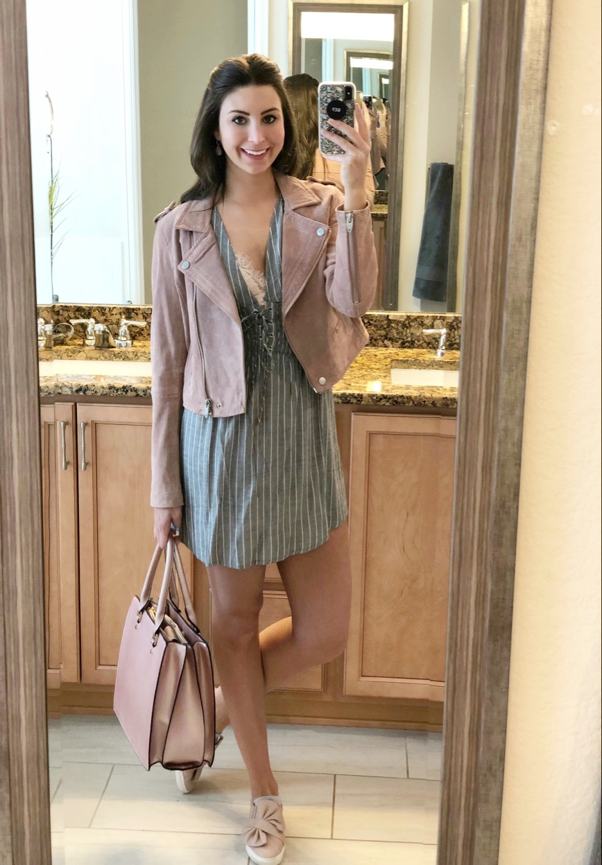 OOTD - April 2018Occasion: Shopping at Macy's for the Denver DerbyOutfit Details