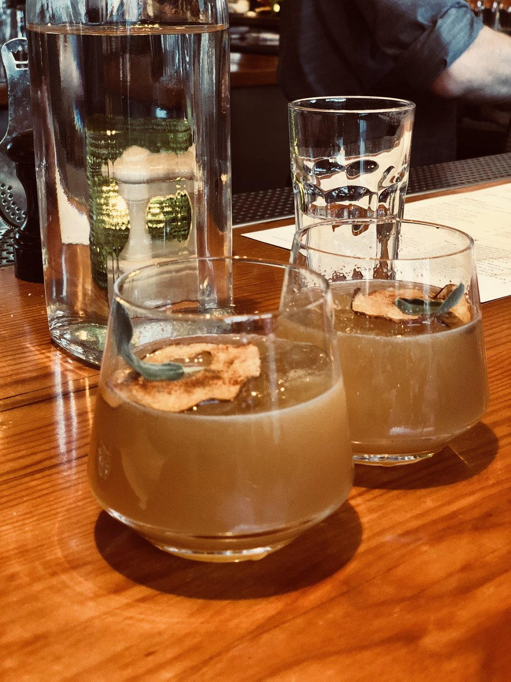 Hatter's Cup - Where to find me: The Kitchen, Denver, COWhat's in me: Cap rock gin, pear-sage puree, honey, amaro lucano, lemon juice, orange bittersWhen to enjoy me: Happy hour