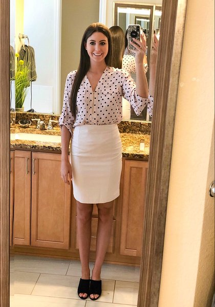 OOTD - May 2018Occasion: First day of school, first day of school! #psych first day of a new job #workOutfit Details