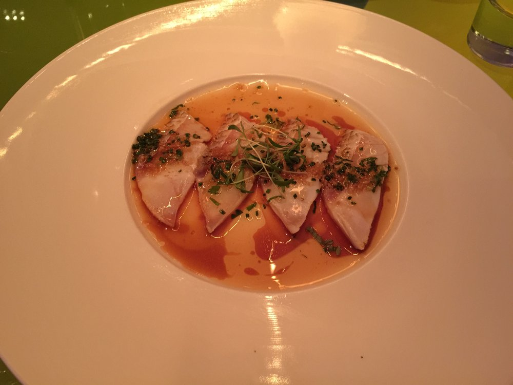 Red Snapper Carpaccio