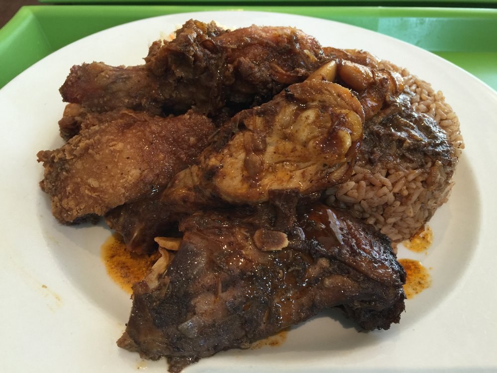 Jerk and Fried Chicken