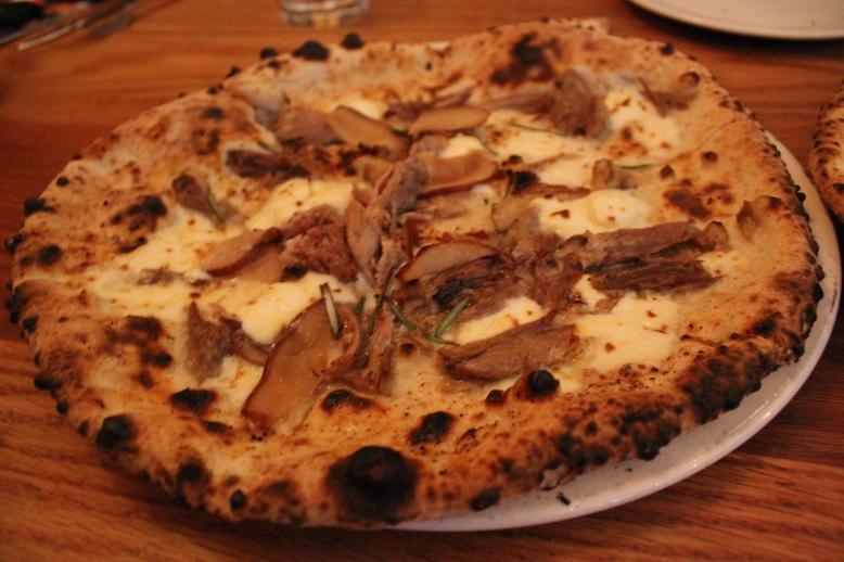 Duck Confit Pizza