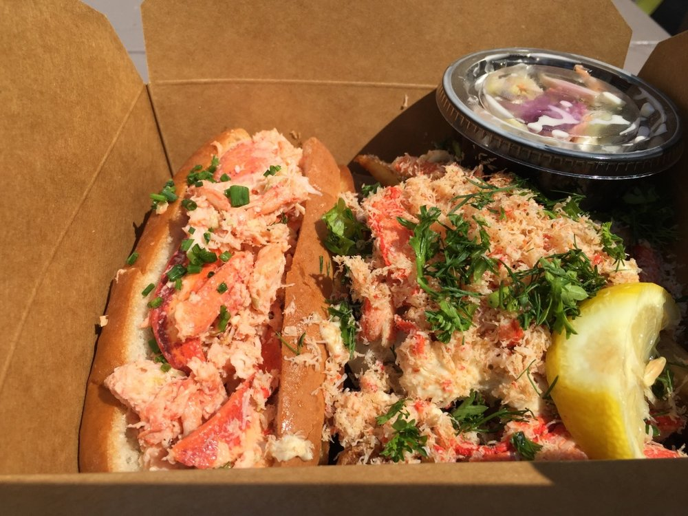 Lobster Roll from Fresh Off The Boat