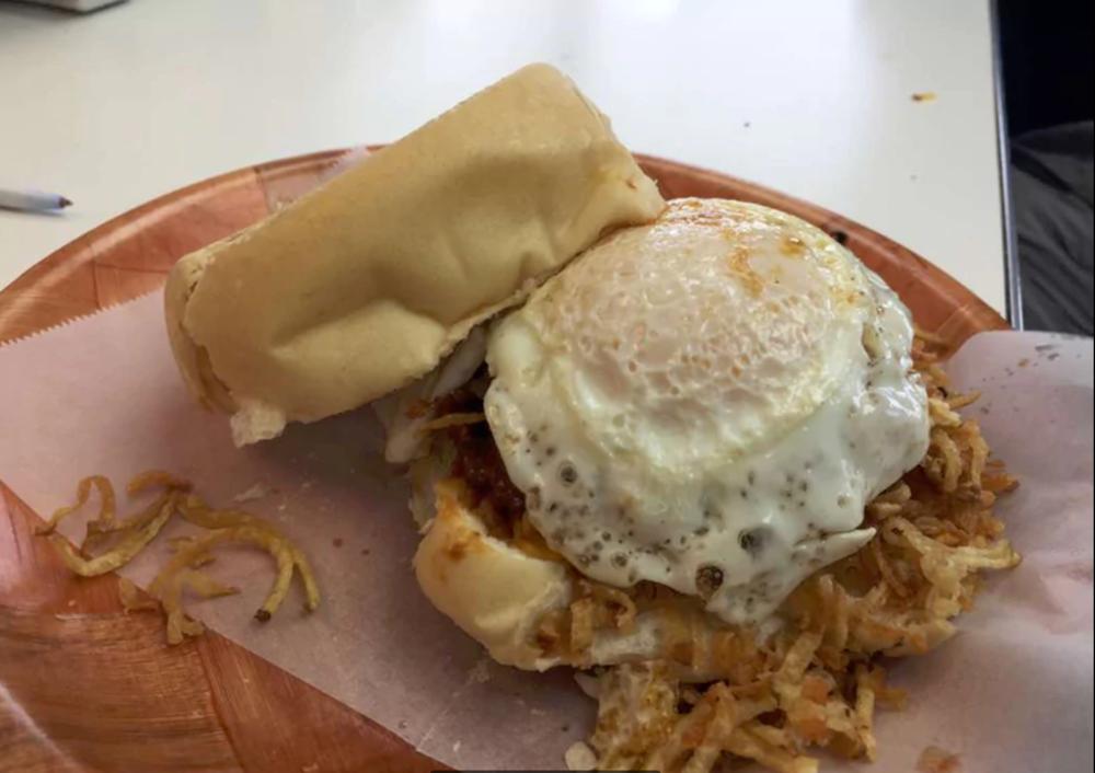 Original Frita with Fried Egg