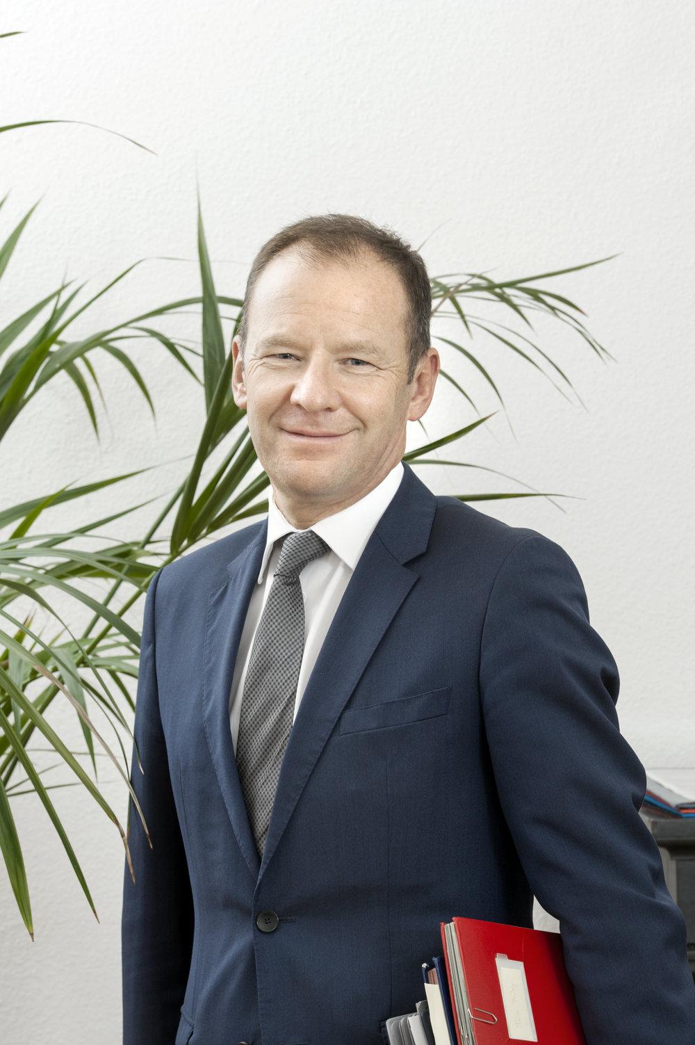 Serge Dal Busco, consigliere di Stato responsabile delle finanze. © DR