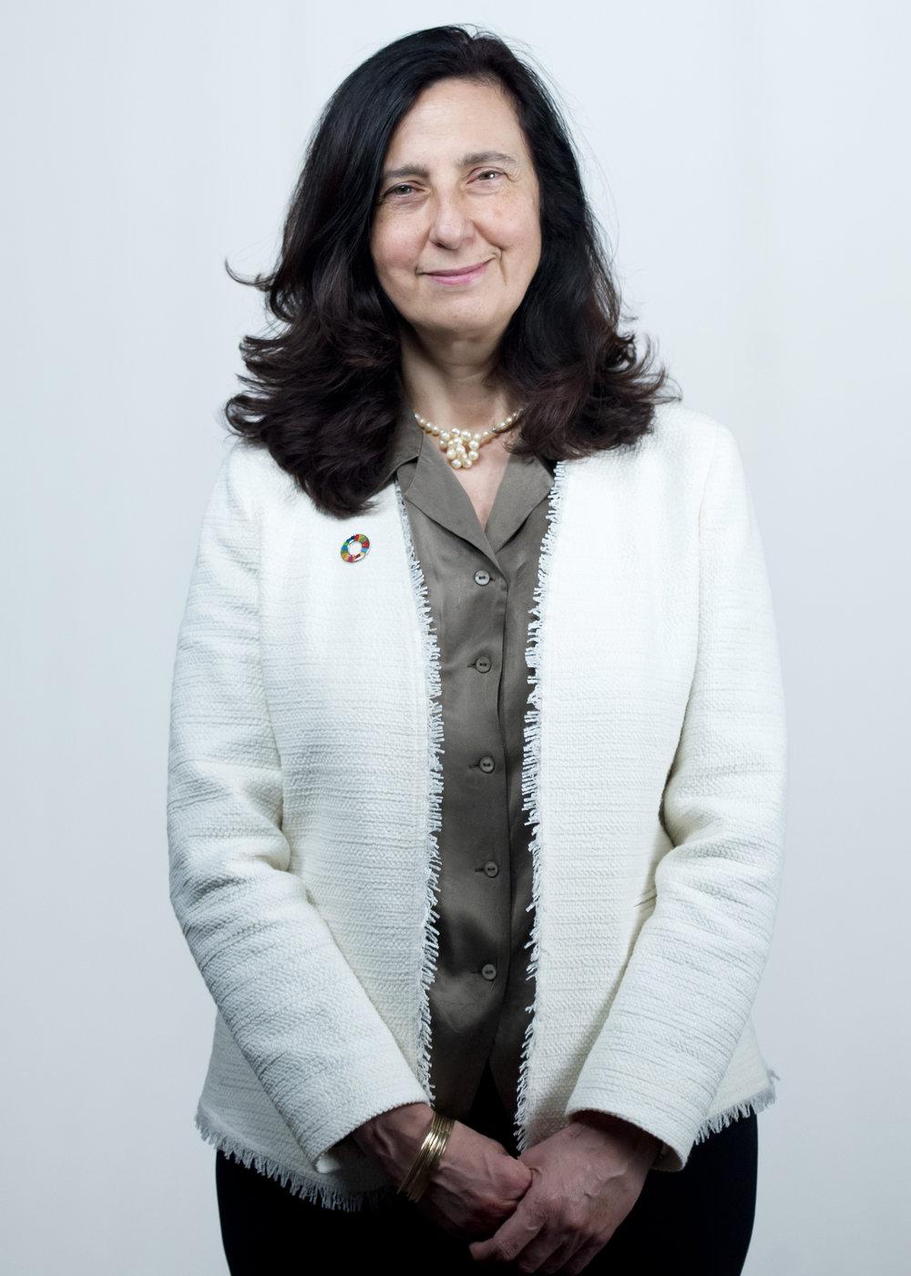 Alessandra Vellucci, direttrice del Servizio di informazione dell'ONU di Ginevra. © ONU / 2017