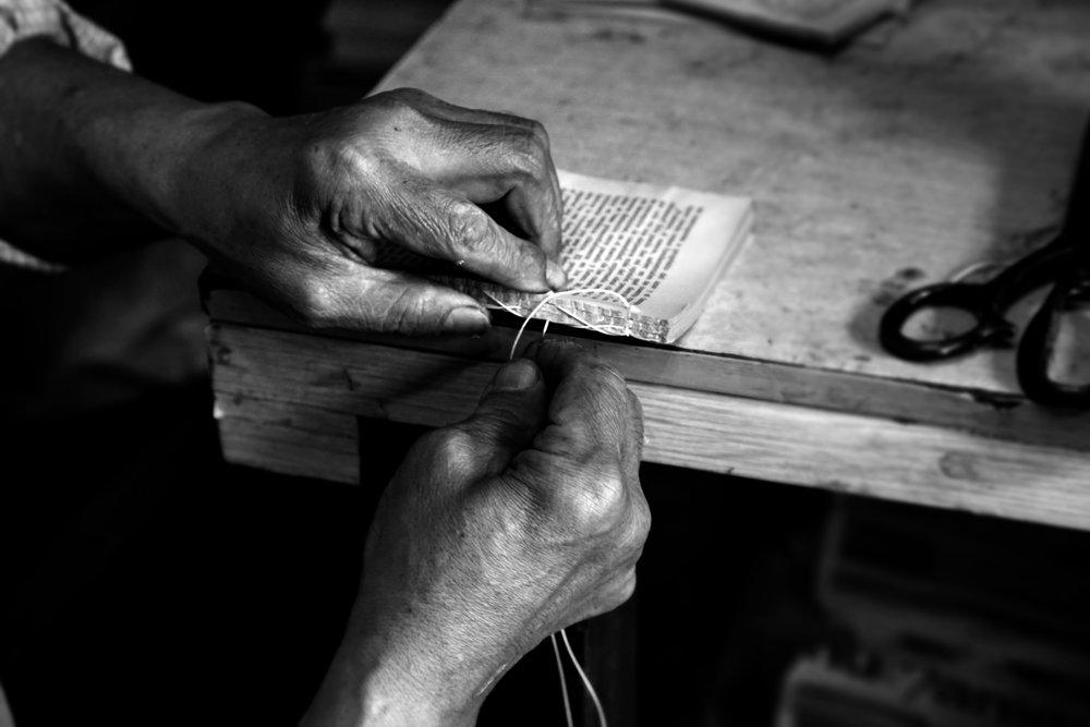 Bookbinder,Bogotá, Colombia